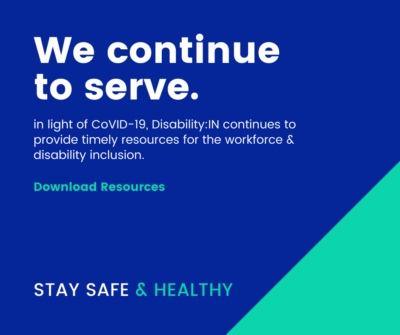 Disability:IN & COVId19