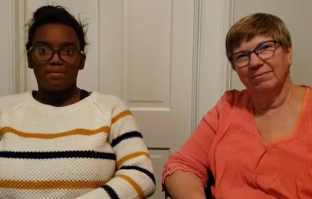 Mentor Match:  Shelley & Madaja
