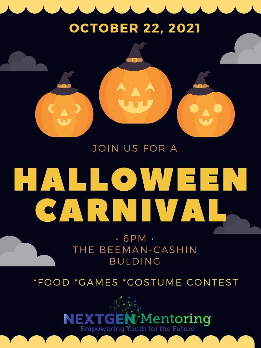 2021 Halloween Carnival Poster