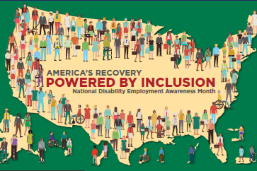 America's Recover - Powered By Inclusion - National Disability Employment Awareness Month
