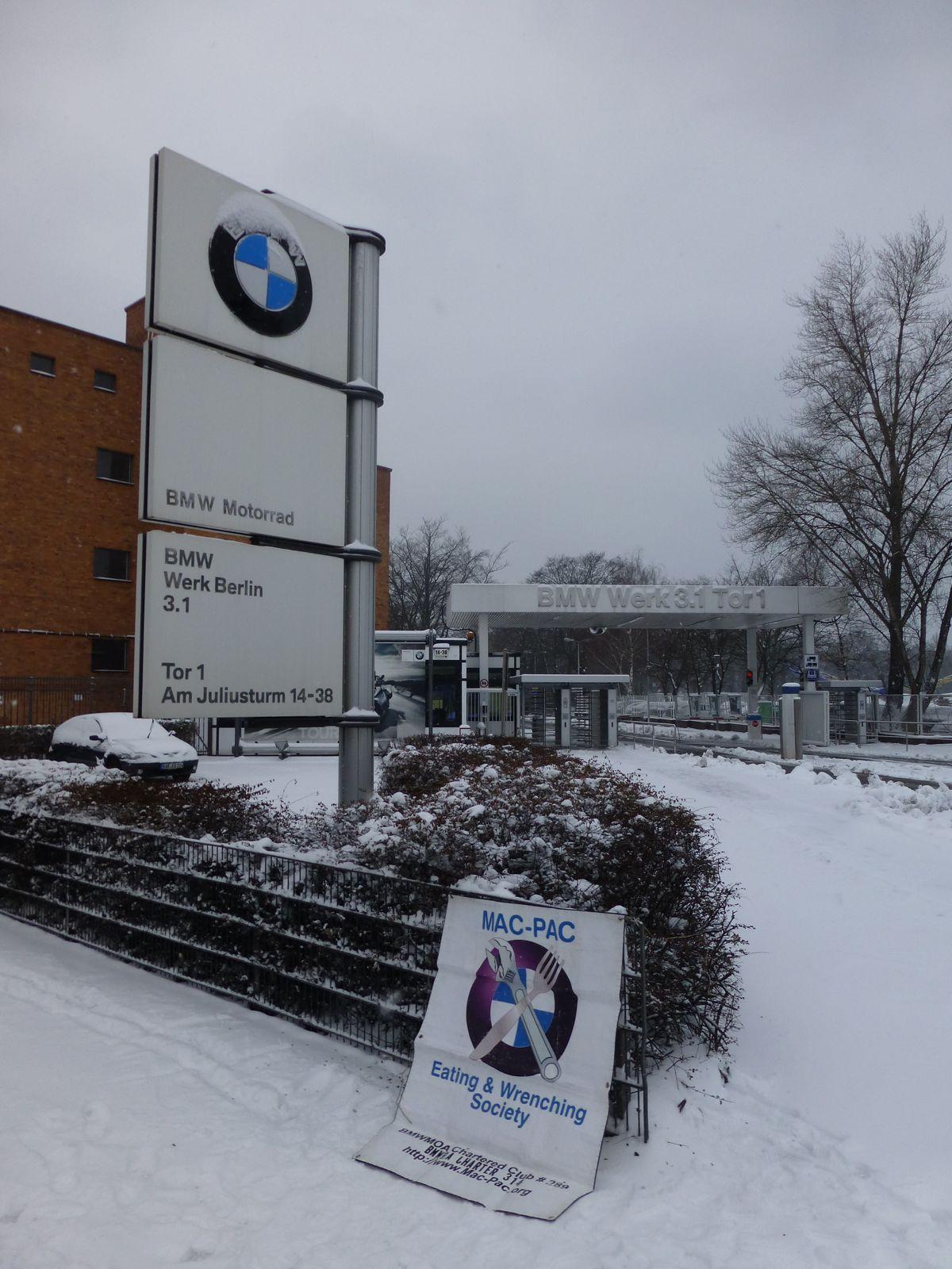 BMW Motorad Factory - BMW Werk 3.1 Berlin