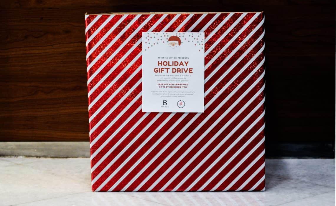 Brickell Gives Back: Holiday Gift Drive