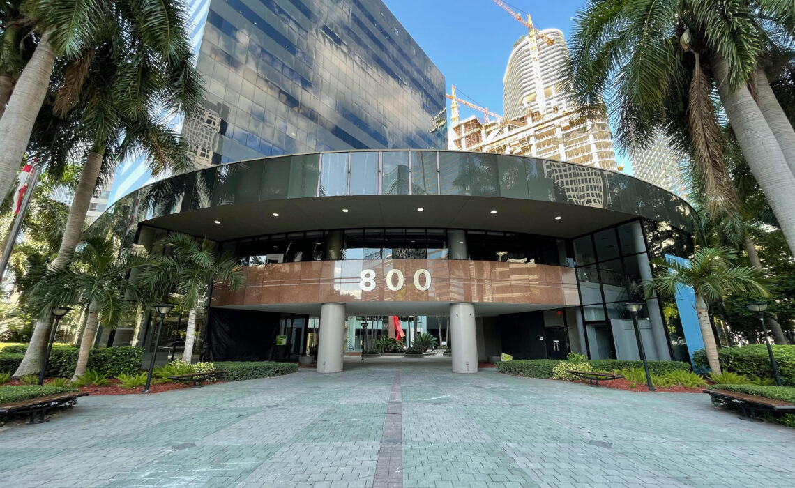 Two Financial Firms Sign Office Leases at 800 Brickell