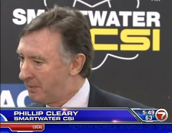 FOX TV coverage - SmartWater CSI Forensic Technology introduced to the U.S.
