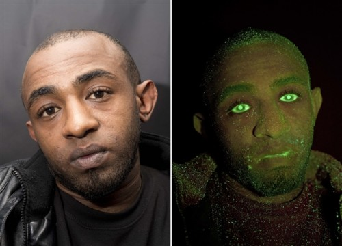 The face of Yafet Askale, who was convicted of stealing from a car after he was sprayed with the odorless chemical mist. Metropolitan Police