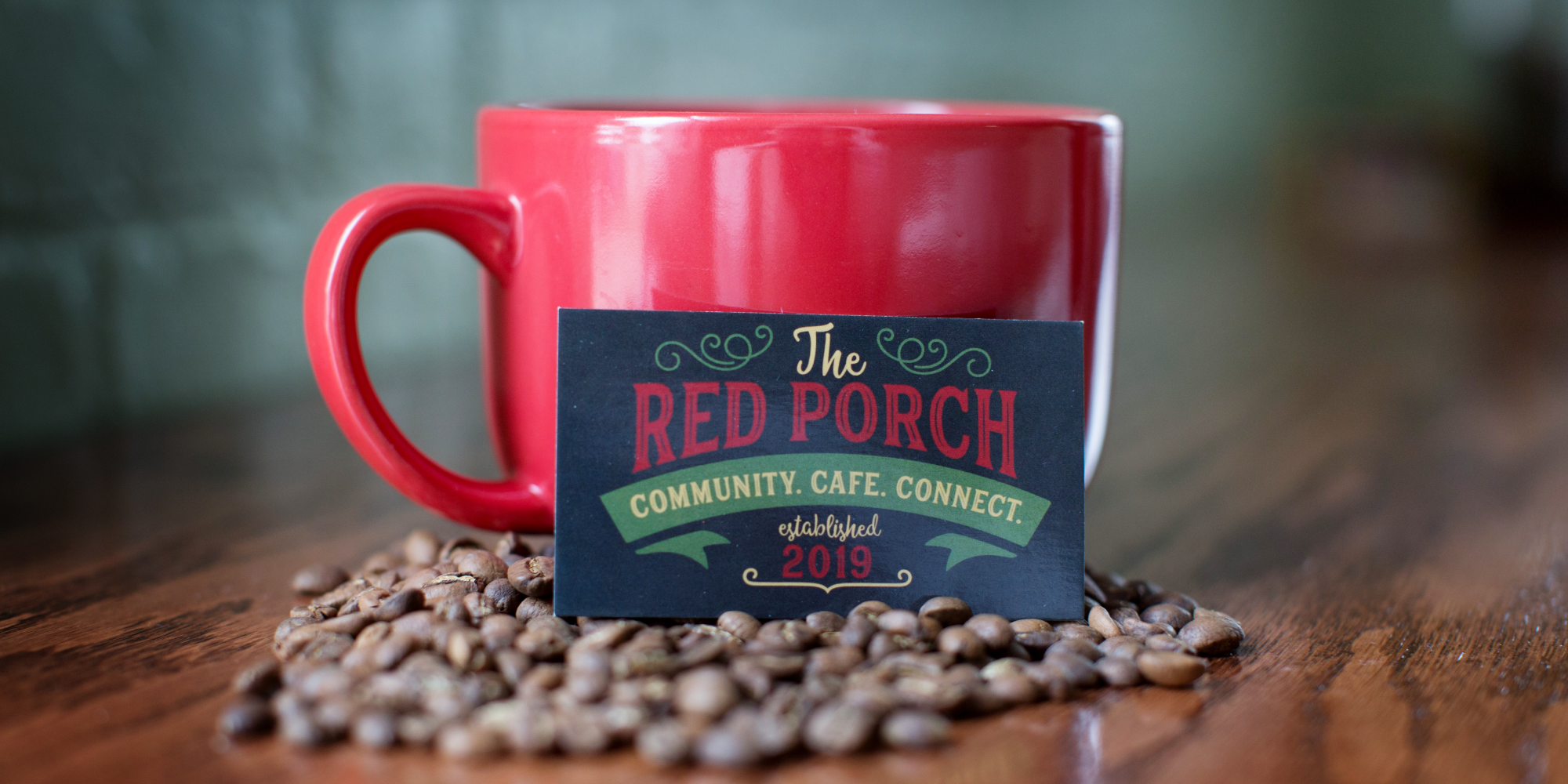 The Red Porch Coffee cup