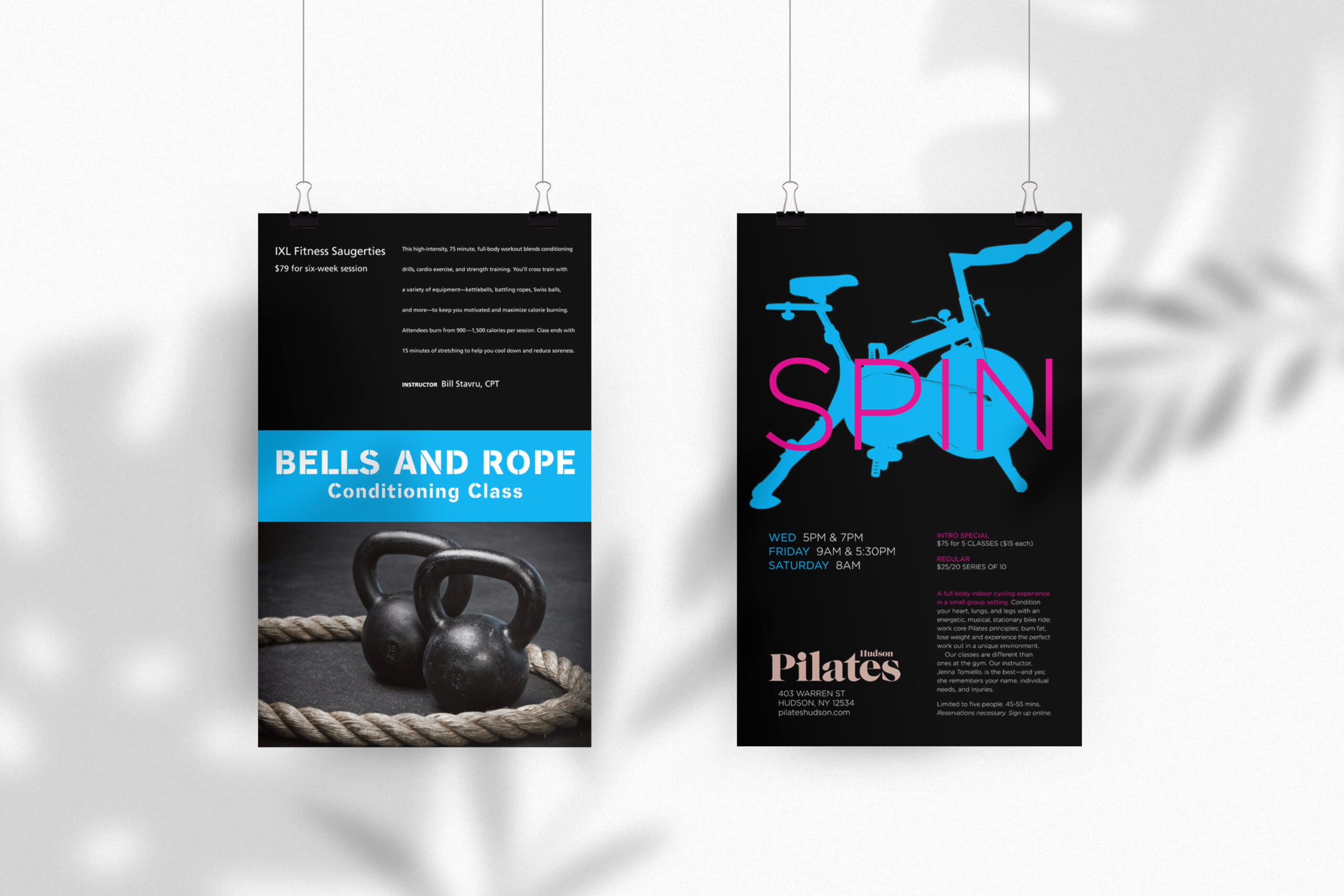 FITNESS Poster Mockup