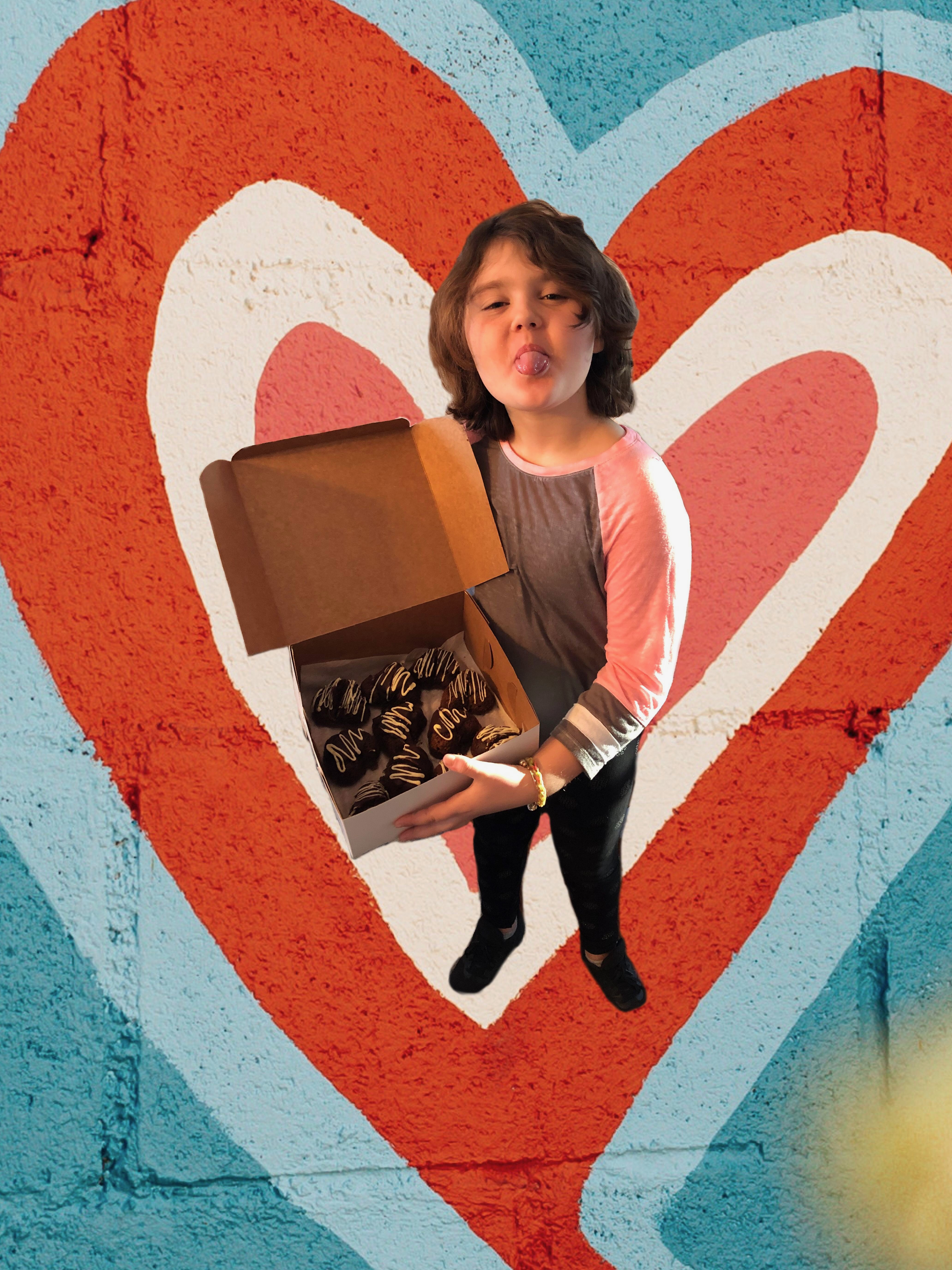 Lily and a box of Love