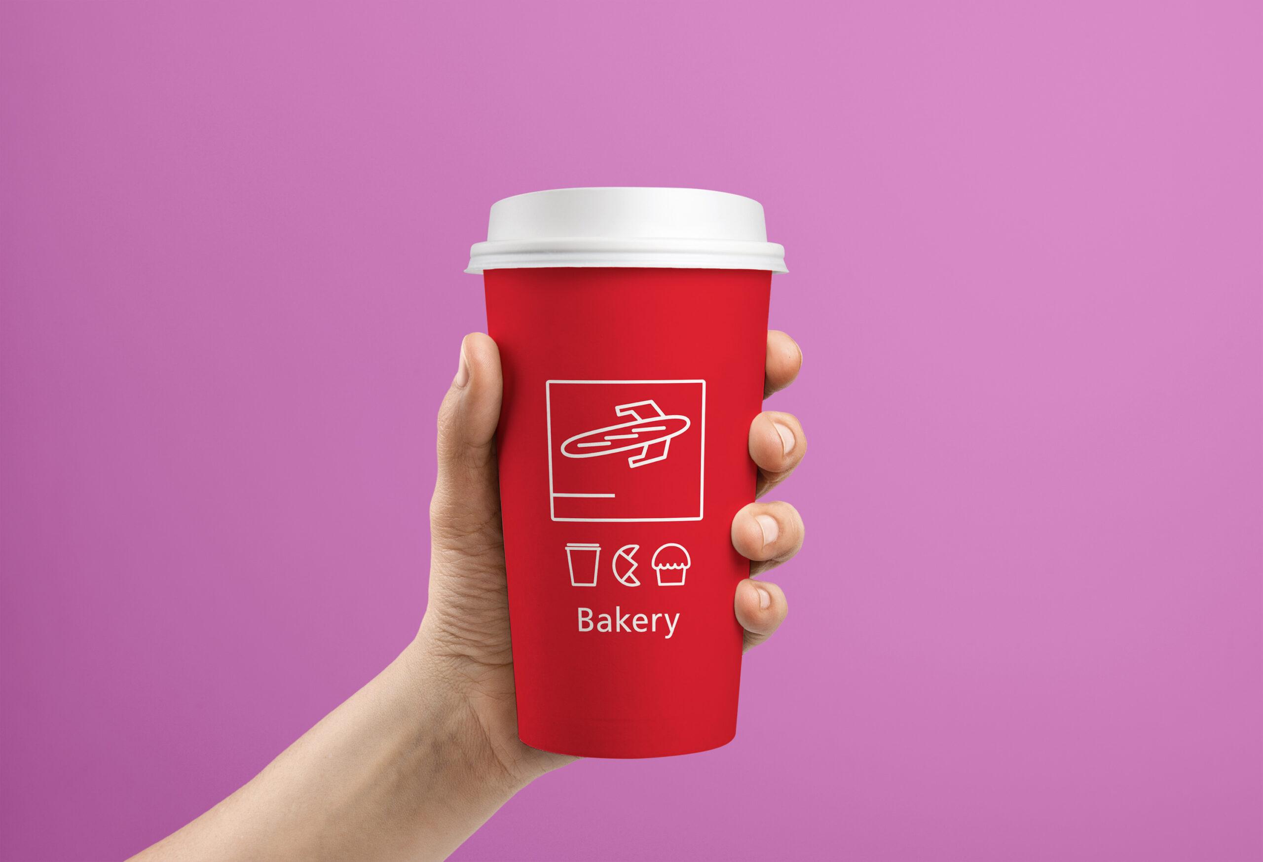 TBB LOGO ON Medium cup