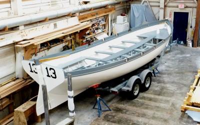 Brooklin Boat Yard Builds 28′ Naval Cutter Replica