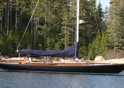 Sailing Lena, a 47' Spirit of Tradition Racing/Daysailing Sloop