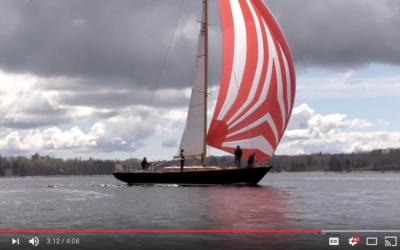 BLACKFISH Launch and Sail