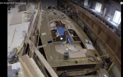 Boatbuilding Time Lapse