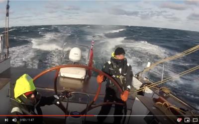 TOROA Sailing in the Gulf of Maine