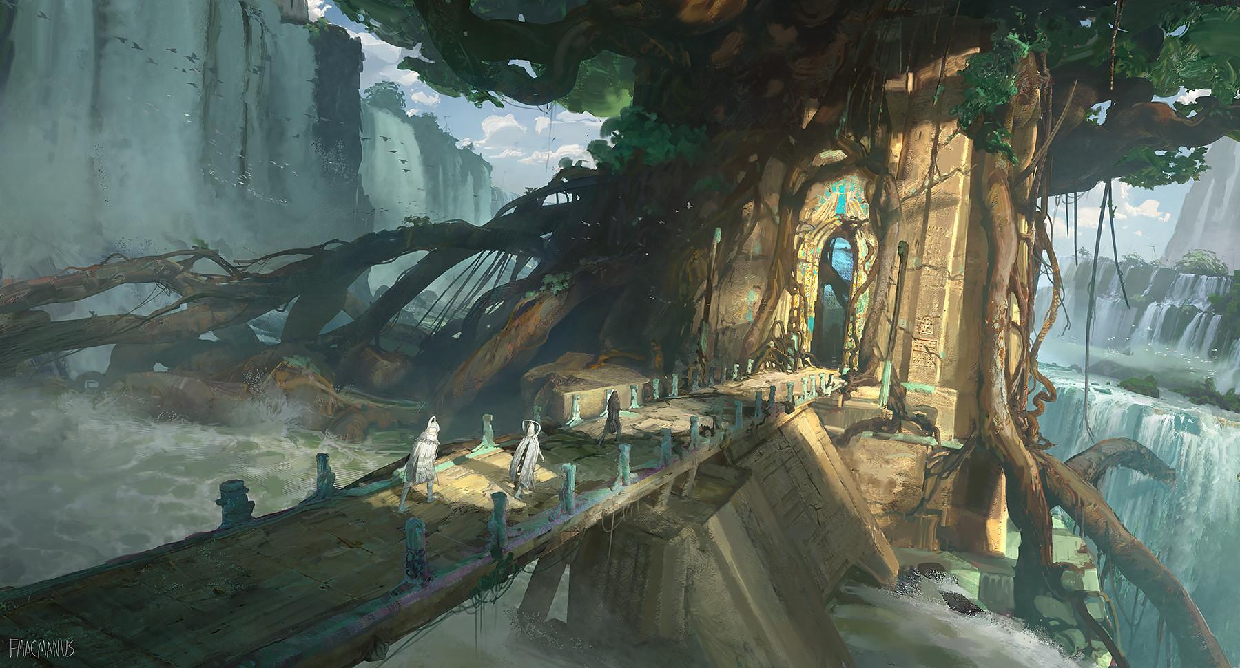 worldbuilding for Seven Lions design photoshop fantasy