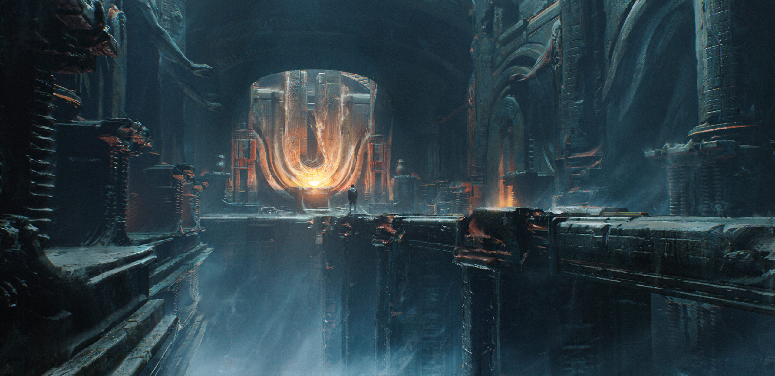 3dcoat scifi worldbuilding design photoshop concept