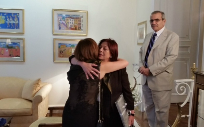 H.E. Ms. Maria Cristina Perceval, Argentina, H.E. Mr. Nawaf Salam, Lebanon and H.E. Ms. Mirsada Colakovic, Bosna and Herzegovina