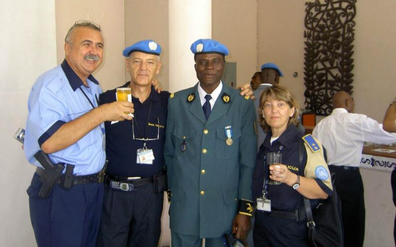 haiti zapovjednica kontingenta