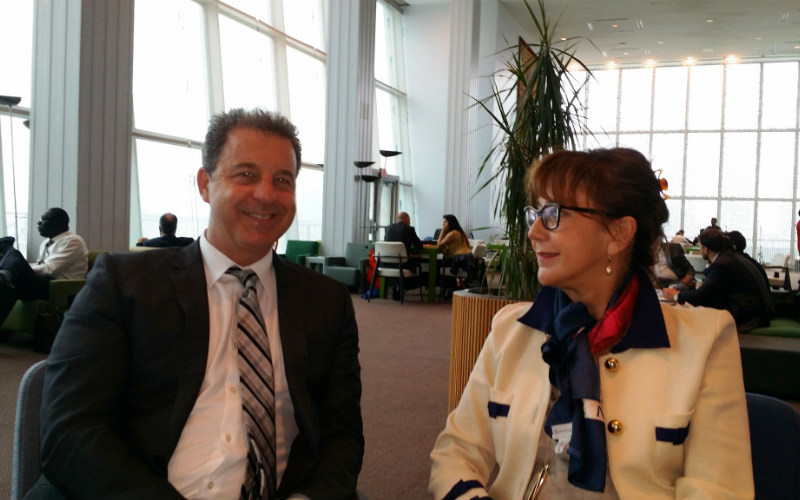 Sastanak Stalne predstavnice BiH pri UN-u, ambasadorice Mirsade Čolaković sa glavnim tužiocem Međunarodnog krivičnog suda za bivšu Jugoslaviju Serge Brammertz-om