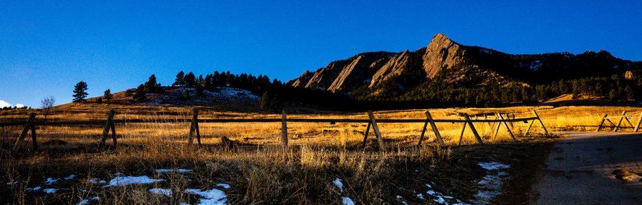 Boulder, Colorado Mountains