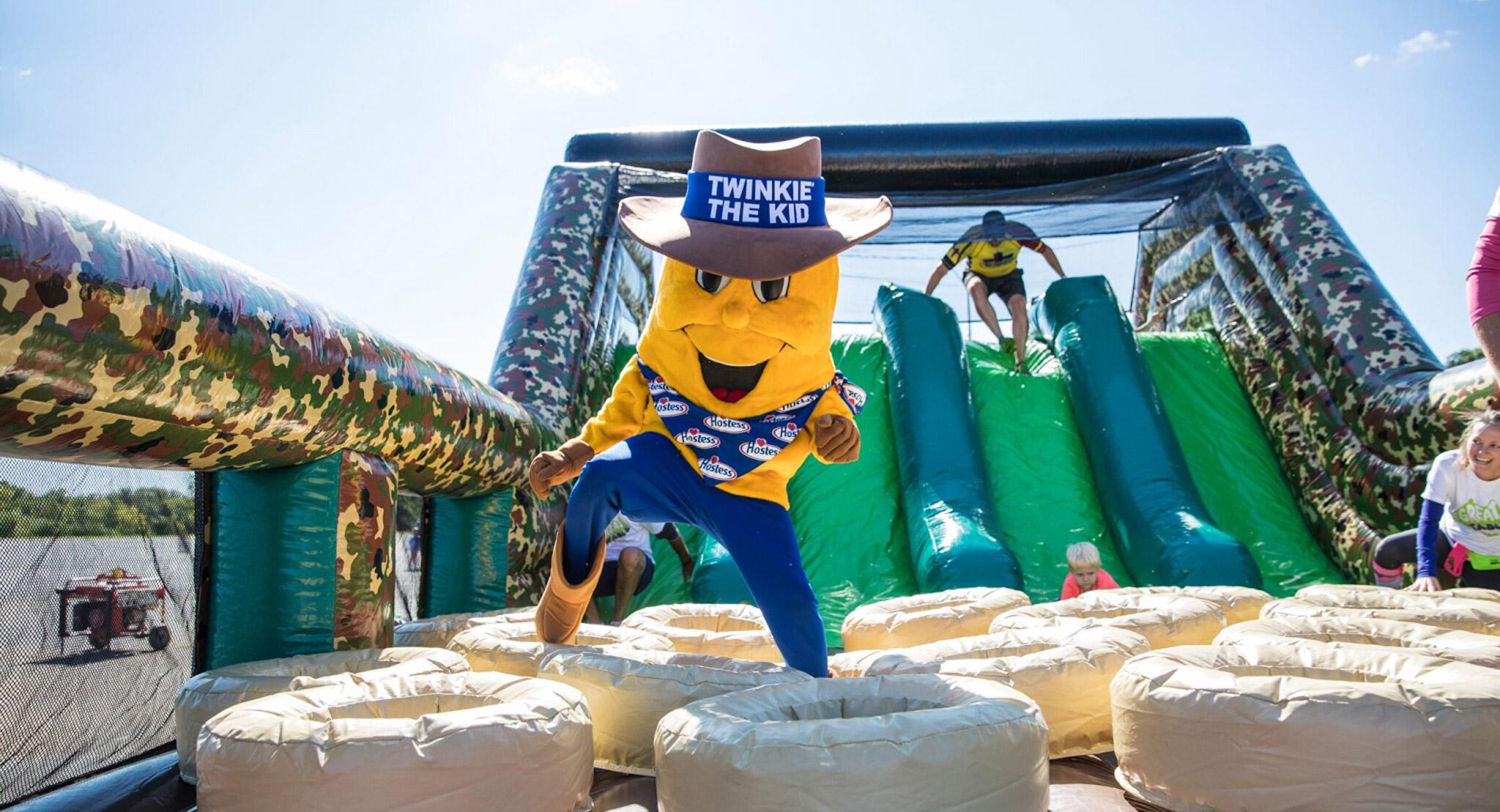 Twinkie the Kid mascot