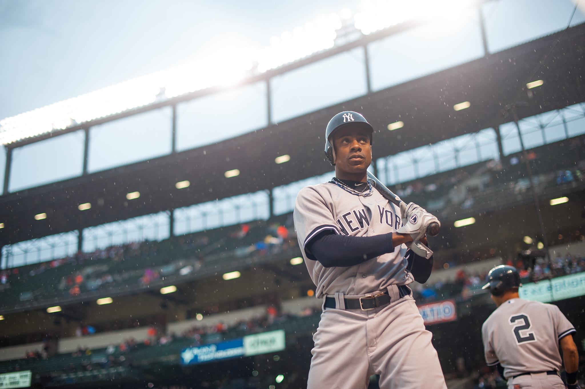 Curtis Granderson New York Yankees