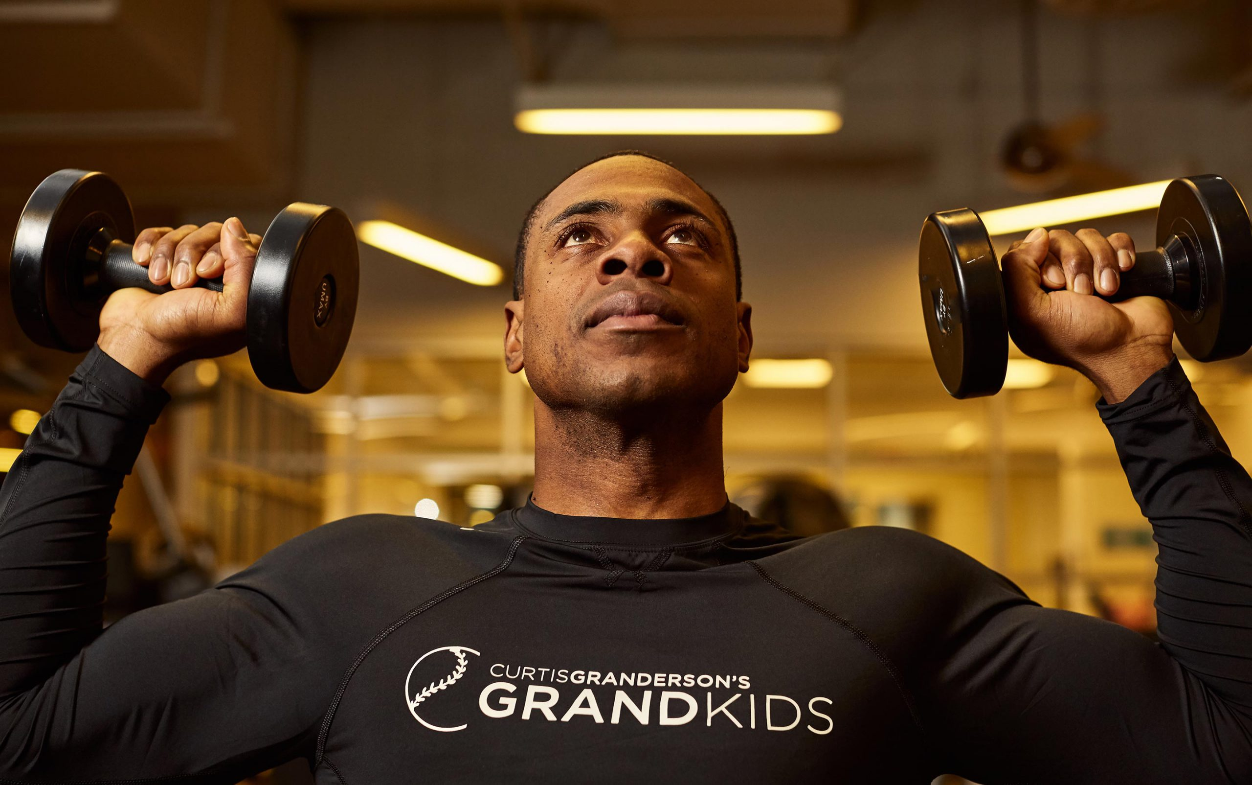 Curtis Granderson workout cover