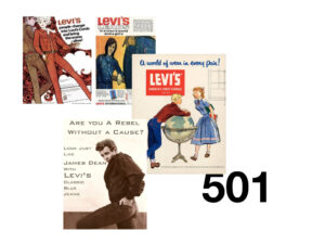 levis 501 ads