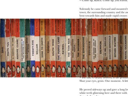 clasicos libros en inglés penguin naranjas
