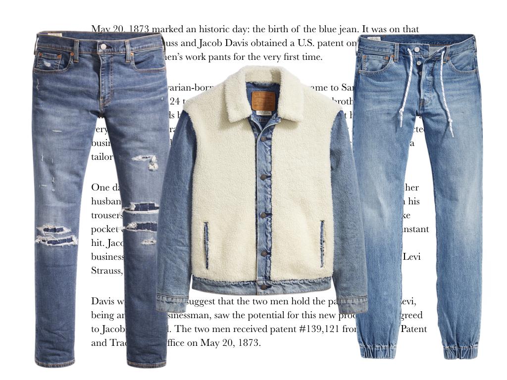 moda de los 80 levi's hombre 2019