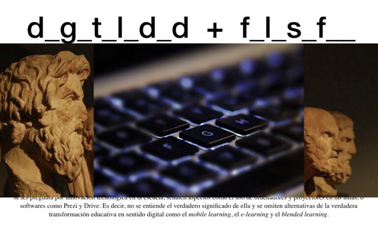 Filosofía y digitalidad filósofos griegos