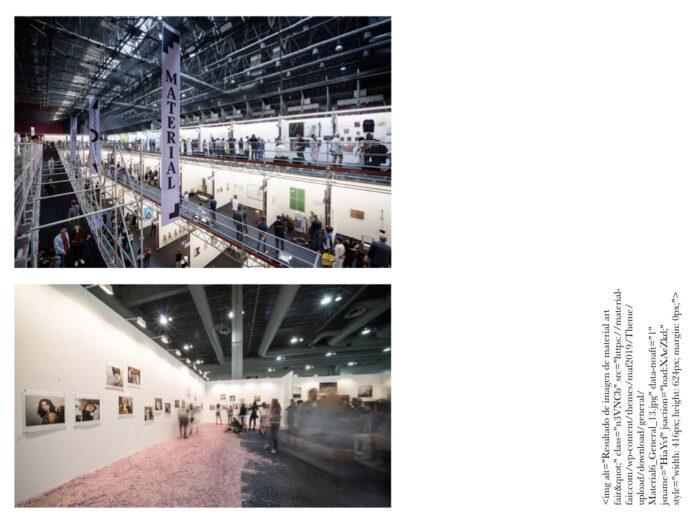 Semana del arte material art fair
