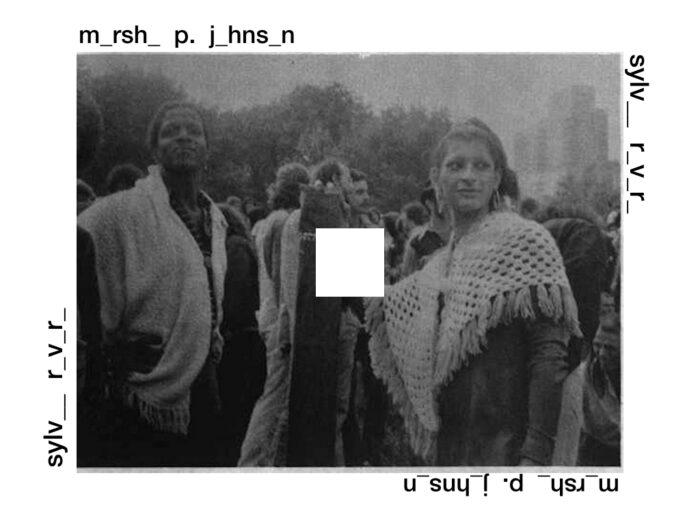 Marsha P. Johnson y Sylvia Rivera marcha