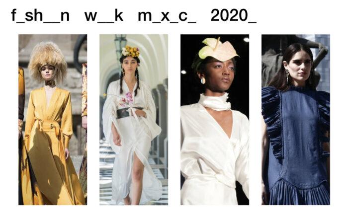 Fashion Week México 2020 Fechas