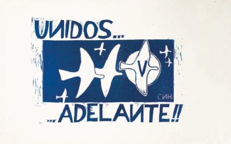 Consigna solidaria del 2 de octubre.