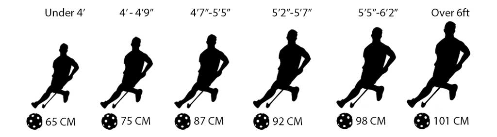 Floorball-Stick-Sizing