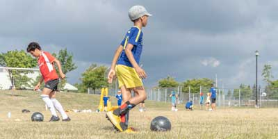 keep the ball On target Soccer Camp