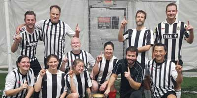 coed soccer league champions