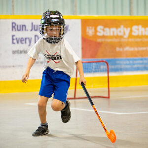 Run the floor. Youth Floorball league