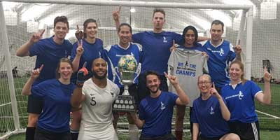 mens soccer league champions