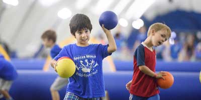 smile and throw dodgeball