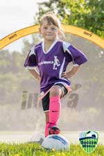 Stoney Creek u6 soccer portrait