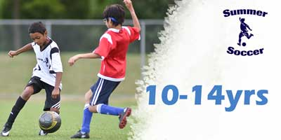 summer soccer ages 10-14yrs