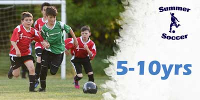 summer soccer ages 5-10yrs