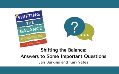 Shifting the Balance:  Answers to Some Important Questions