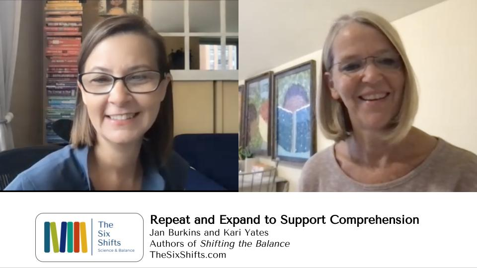 Talking With Children In Ways that Support Comprehension
