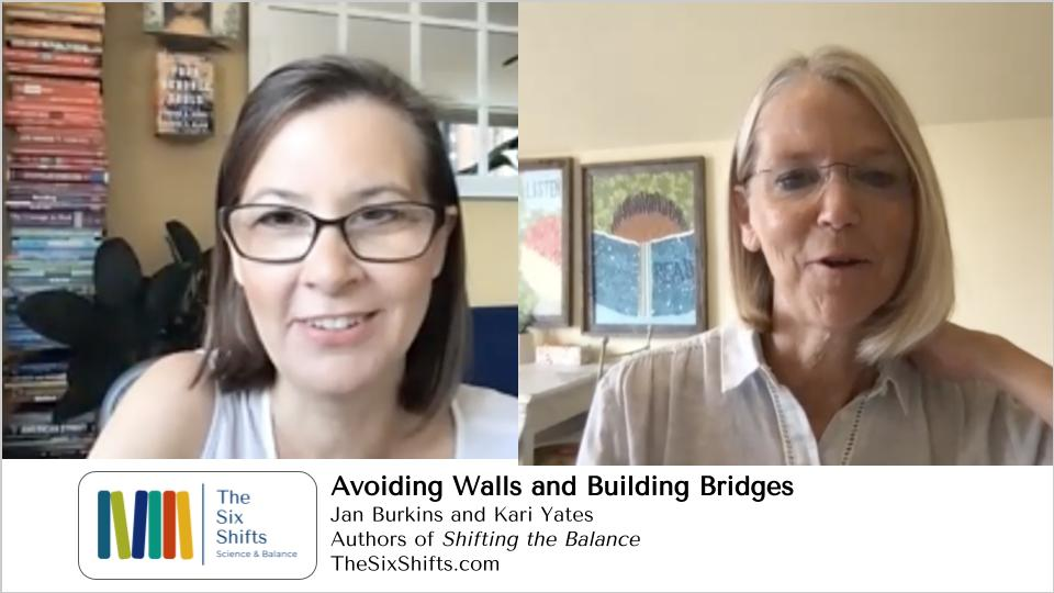 Avoiding Walls and Building Bridges