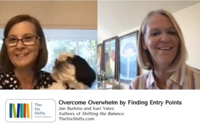 Overcoming Overwhelm by Finding Entry Points