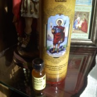 Free Candle Spells   Saint Expedite Red Fast Luck Candle Kit