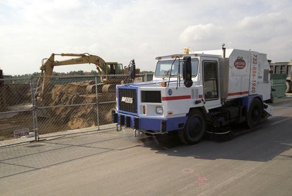 construction sweeping backhoe - sweeping.com